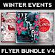 Winter Events Flyer Bundle V4