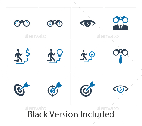 GraphicRiver Business Vision Icons 20711751