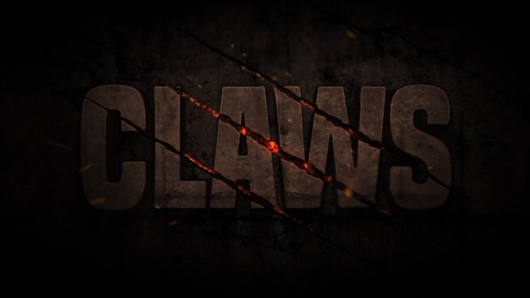 Claws Scratch Title / Logo Opener