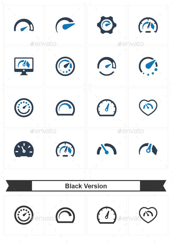 GraphicRiver Speedometer Icons 20711784