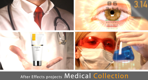 Medical Collection (After Effects projects)
