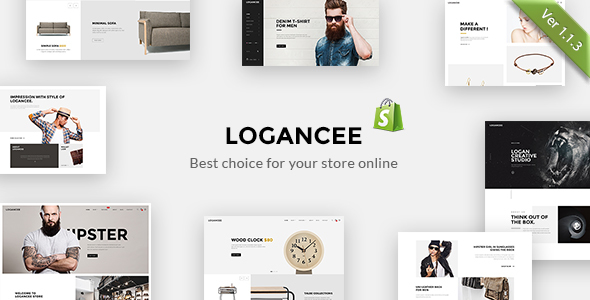 Image of Logancee – Responsive Ecommerce Shopify Template