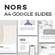 NORS Vertical Google Slides A4 US Letter Template - GraphicRiver Item for Sale