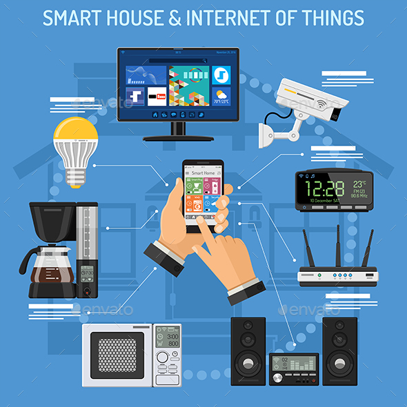 Smart House and Internet of Things - Communications Technology