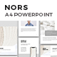 NORS Vertical Powerpoint A4 US Letter Template
