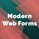 Modern Web Forms - GraphicRiver Item for Sale