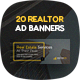 RealtorCity - Real Estate Ad Banners