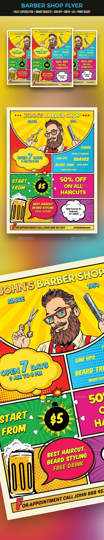 Barber Shop Flyer - Commerce Flyers