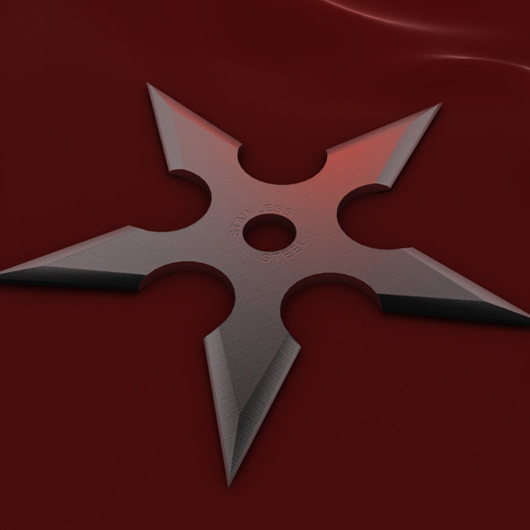 5 Point Shuriken - 3DOcean Item for Sale