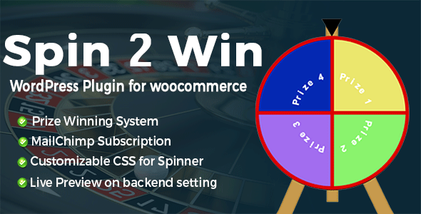 CodeCanyon Spin2Win WordPress Plugins For Interactive Email Lead Generation 20657852