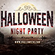 Halloween Party Facebook Covers - GraphicRiver Item for Sale