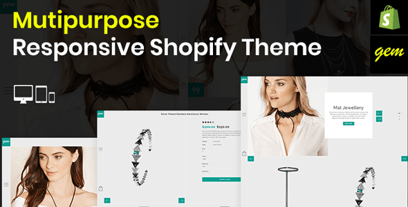 Image of Gem – Multipurpose Responsive Shopify Theme