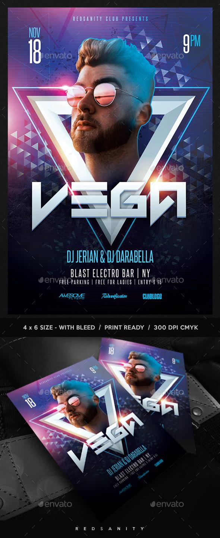 Guest DJ / Artist Flyer - Clubs & Parties Events