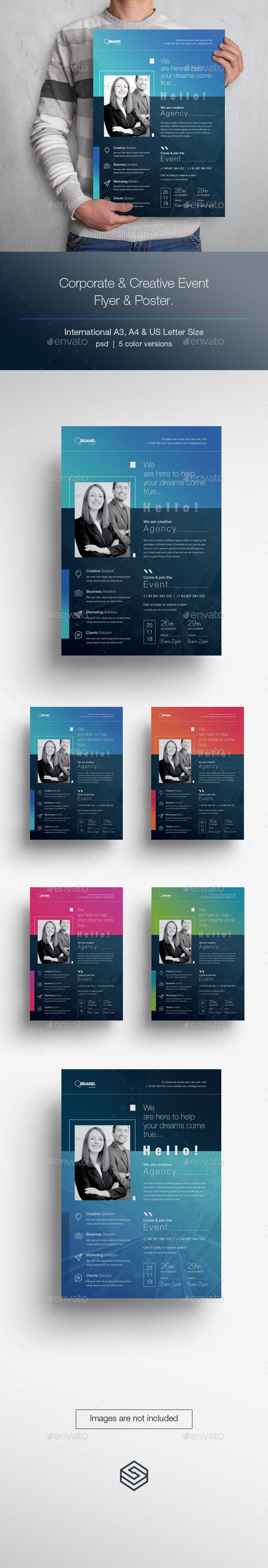 GraphicRiver Conference Event Flyer & Poster 20712803