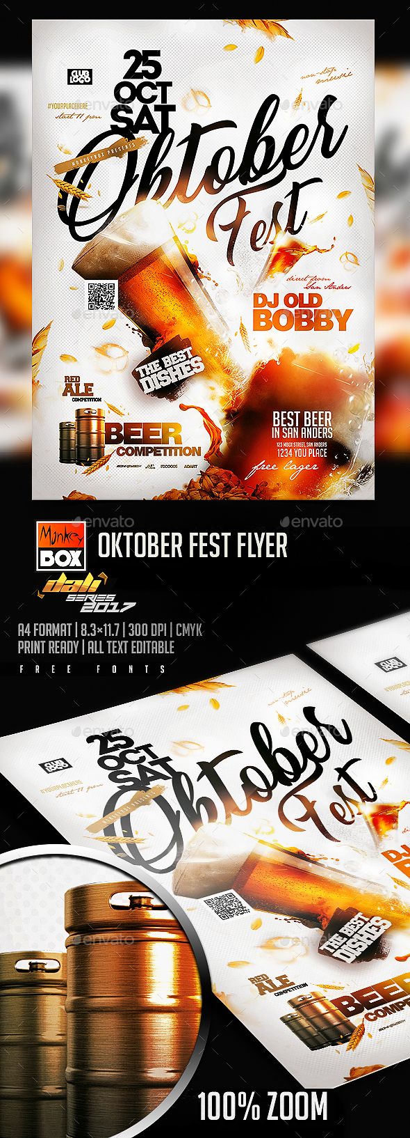 GraphicRiver Oktober Fest Flyer 20713365