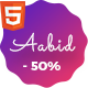 Powerful Multipurpose HTML5 Website Template — Aabid - ThemeForest Item for Sale