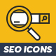 48 SEO Icons - GraphicRiver Item for Sale