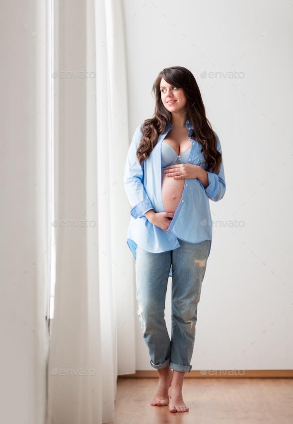 big tummy girl