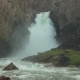 """Waterfall """"33 Parrots"""", at the Same Pass. The Height of the Waterfall Is 30 Meters"""