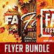 Fall Festival Flyer Bundle Vol.1
