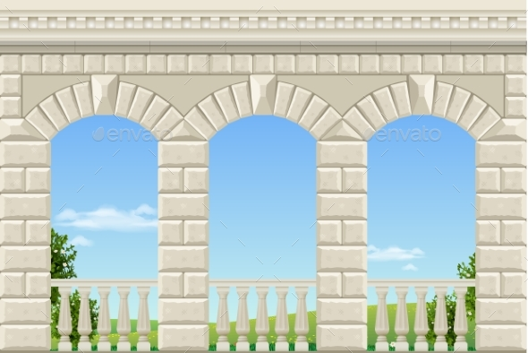 GraphicRiver Classic Arch of the Palace 20715086