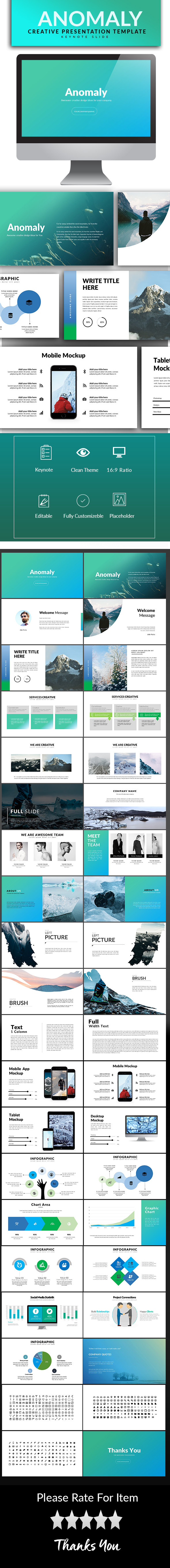 Anomaly Keynote Template - Keynote Templates Presentation Templates