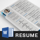 Resume Template 3 Pages - GraphicRiver Item for Sale