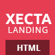 Xecta - One Page Multipurpose Landing Page - ThemeForest Item for Sale