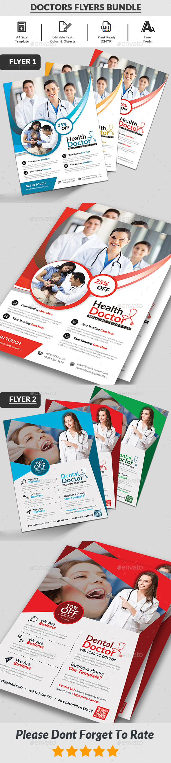 Doctors Flyers Bundle - Corporate Flyers