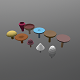 Low poly Mushrooms pack