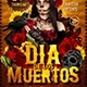 Dia De Los Muertos Flyer - GraphicRiver Item for Sale