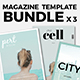 Magazine Template Bundle 03 - GraphicRiver Item for Sale