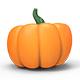 Halloween Pumpkin PNG Set