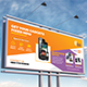 Repair Service Billboard Template