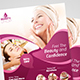 Beauty Care Flyer & Roll-Up Bundle Template