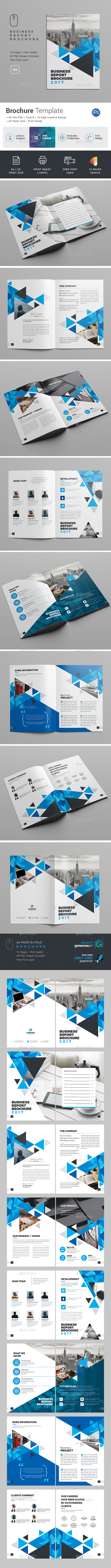 Brochure Template - Corporate Brochures