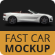Easy Mockup For Bentley Fast Car - GraphicRiver Item for Sale