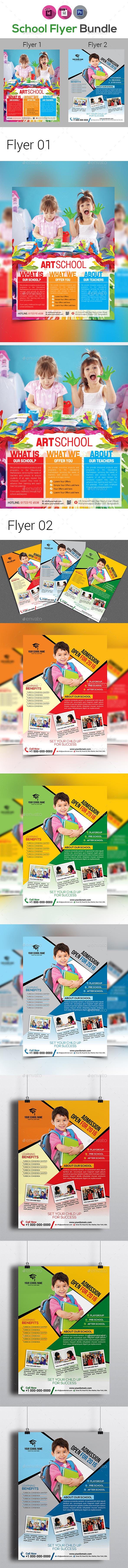 Kids Education Flyer Bundles - Corporate Flyers