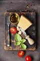 Fresh food ingredients for italian cuisine. - PhotoDune Item for Sale