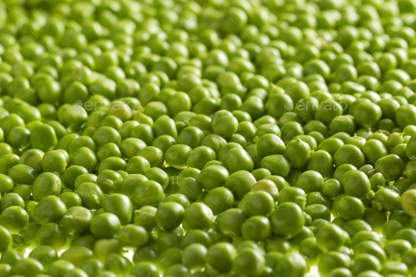 Green peas kernels - Stock Photo - Images