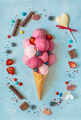 Fresh ice cream. - PhotoDune Item for Sale