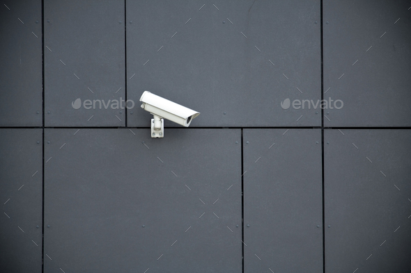 Security camera - Stock Photo - Images