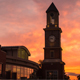 Clock Tower Sunset - VideoHive Item for Sale