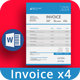 Invoice Word - GraphicRiver Item for Sale