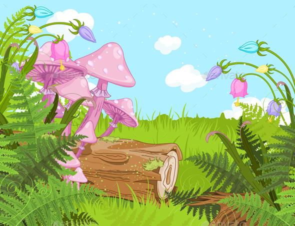 GraphicRiver Fantasy Landscape 20717121