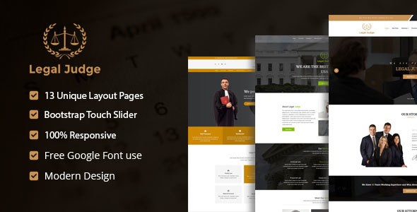 Download Legal Judge – Law Firm HTML5 Responsive Template