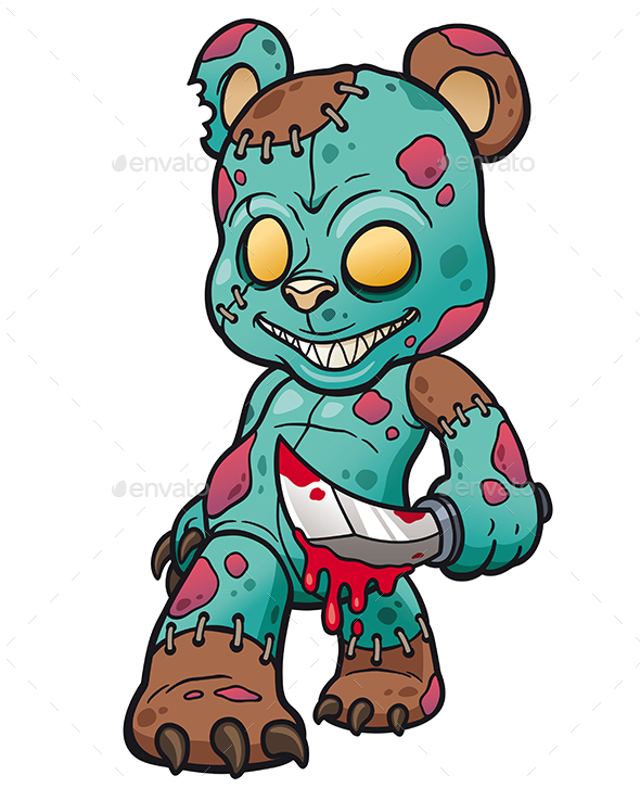Teddy Bear - Monsters Characters