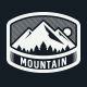 Mountain Adventure Label and Badges - GraphicRiver Item for Sale