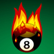 Pool Ball on Fire - GraphicRiver Item for Sale