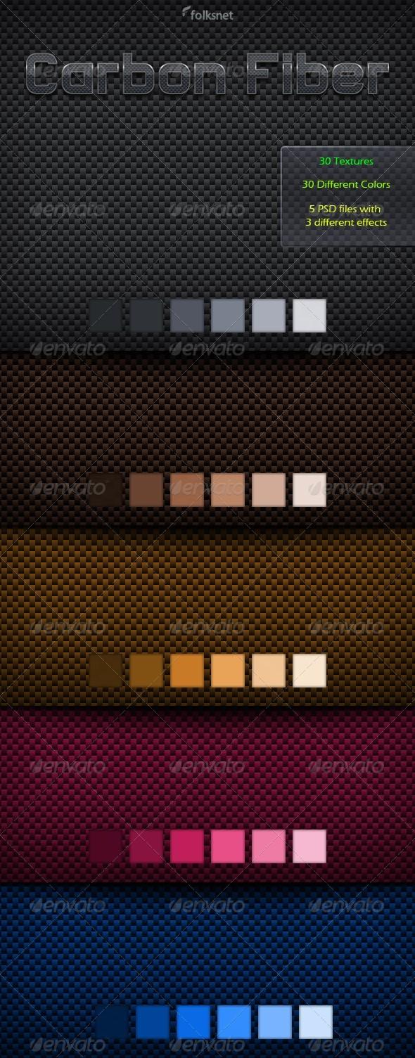 Carbon Fiber Textures - Metal Textures